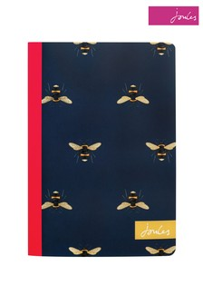 Joules Navy Bee Notebook