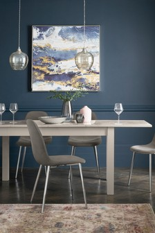 Mode Gloss Double Extending Dining Table