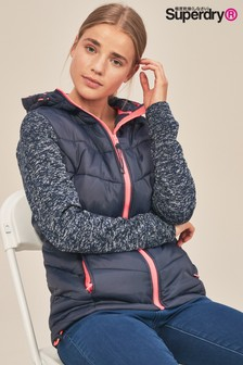 Superdry Storm Hybrid Zip Hood Jacket