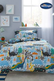 Healthy Growth Kids Dino Duvet Cover and Pillowcase Set by Silentnight