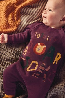 Lion Character Romper (0mths-2yrs)