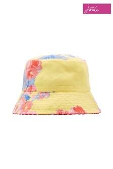 Joules Yellow Sunseeker Reversible Hat