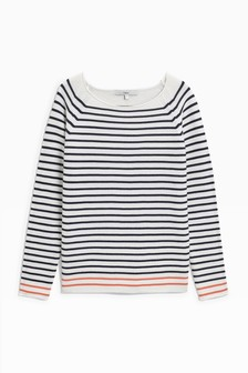 Cotton Stripe Sweater