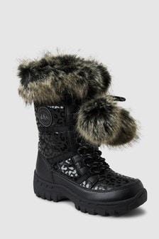 Pom Pom Snowboots (Older)