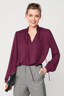 Pie Collar Blouse