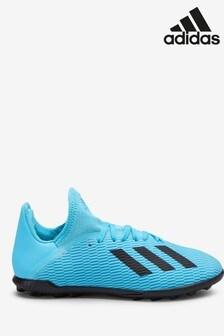 adidas Hardwired Blue X Turf Junior & Youth Football Boots