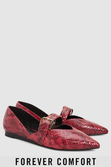Feature Buckle Point Shoes