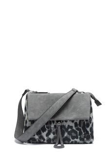 Three Compartment Squashy Across-Body Bag