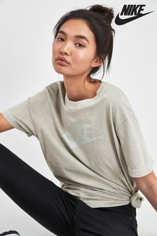 Nike Rebel Jade Washed Tee