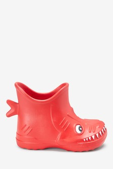 EVA Shark Ankle Wellies (Younger)