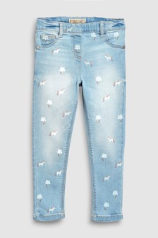 Print Unicorn Jeggings (3-16yrs)