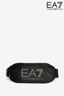 Emporio Armani EA7 Black Logo Bumbag