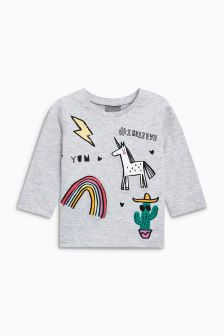 Unicorn Tee (3mths-6yrs)