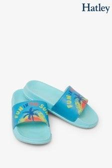 Hatley Blue Fun In The Sun Slide On Sandals