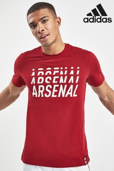 adidas Red Arsenal Football Club DNA Tee