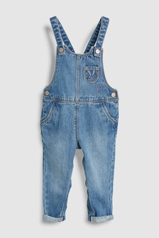 Embroidered Dungarees (3mths-7yrs)