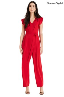 Phase Eight Red Victoria Jumpsuit