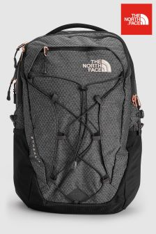 The North Face® Black Heather/Gold Borealis Backpack