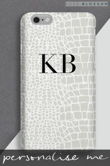 Personalised Snake Skin Phone Cover By Koko Blossom