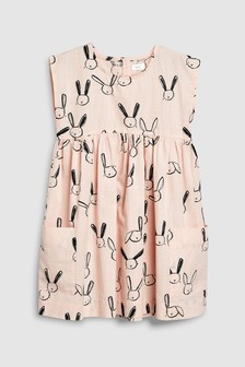 Платье с боковыми карманами (3 мес.-6 лет)