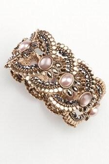 Jewelled Bead Detailed Bracelet