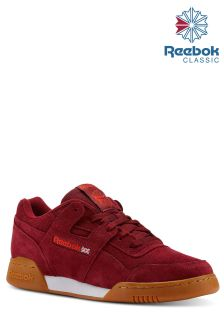 Reebok Burgundy Workout Plus