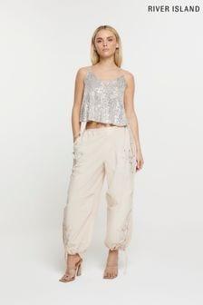 Levi's® Kids Grey Logo Overhead Hoody