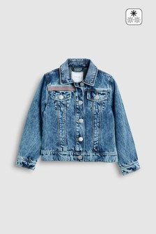 Denim Embellished Jacket (3-16yrs)
