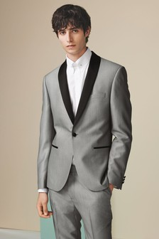 Slim Fit Shawl Collar Tuxedo Suit
