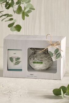 Glass Tea Pot Gift Set