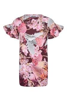 Girls Winter Bouquet Organic Cotton Dress