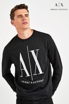 Armani Exchange Black Icon Sweatshirt