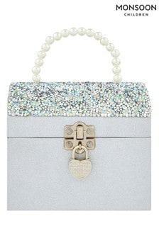 Monsoon Silver My Secret Sparkle Money Box