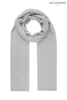 Accessorize Metallic Stole Scarf