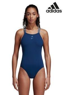 adidas Blue Swimsuit