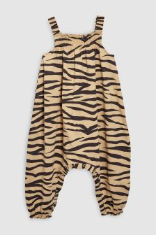 Zebra Print Playsuit (3mths-6yrs)