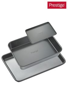 Set of 3 Prestige Heavy Guage Bakeware