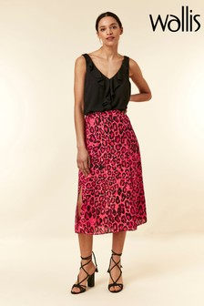Wallis Pink Animal Car Wash Skirt