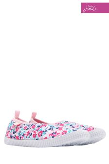 Joules Pink Ditsy Goodway Pump