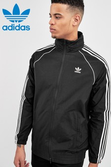 adidas Originals Black Superstar Windbreaker Jacket