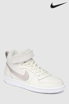 Nike Cream Court Borough Mid