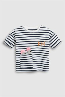 Stripe Monster T-Shirt (3mths-6yrs)