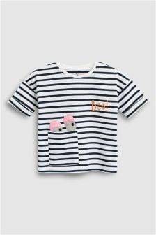 Stripe Monster T-Shirt (3mths-6yrs)
