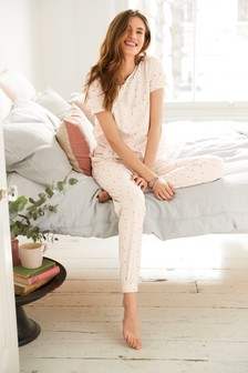 Cotton Ruffle Pyjamas