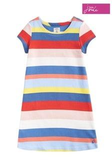 Joules Yellow Riviera Short Sleeve Dress