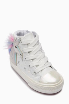 8d4249976aba05 Unicorn High Top Trainers (Younger)