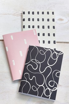 Set of 3 A6 Notebooks