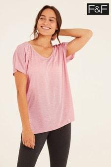 F&F Pale Pink Oversized T-Shirt