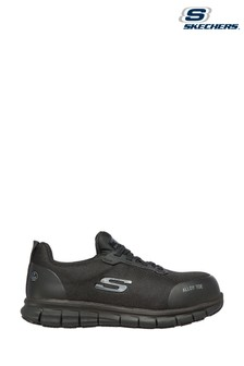 Skechers® Black Sure Track Jixie Safety Trainers