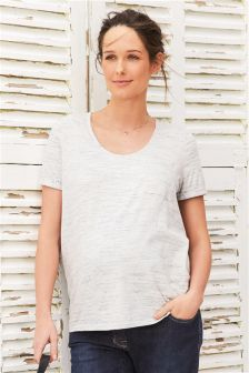 Maternity Speckle T-Shirt